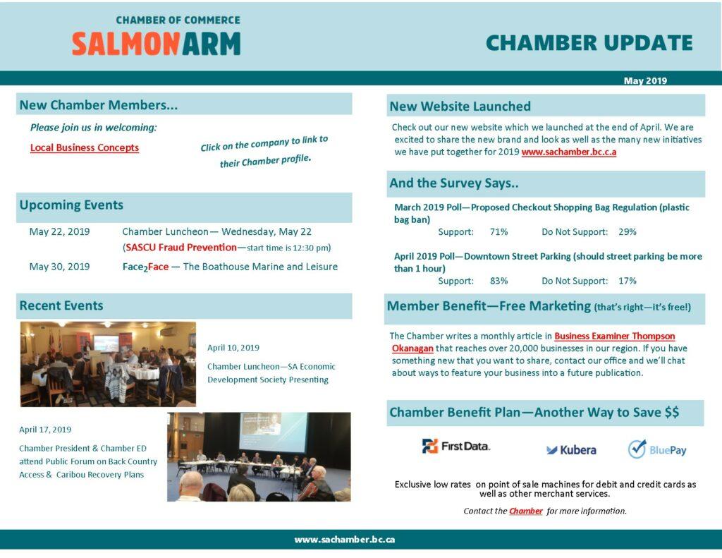 Chamber Update - May 2019