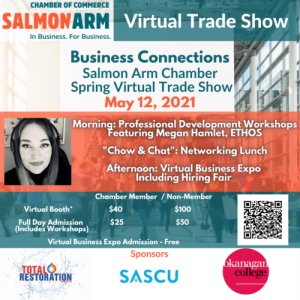 Business Connections: Salmon Arm Chamber Spring Virtual Trade Show